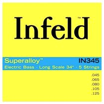 Струны для бас-гитары Infeld Superalloy IN345
